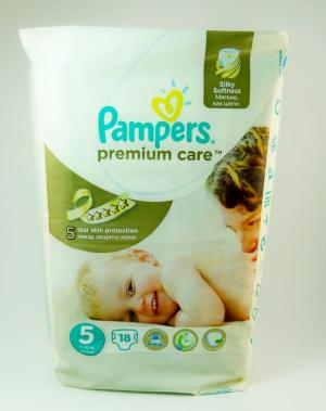 Подгузники Pampers Premium Care Junior 11-18 кг 18шт