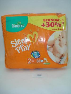 Подгузники «Pampers» Sleep&Play Extra mini 3-6кг эконом №88